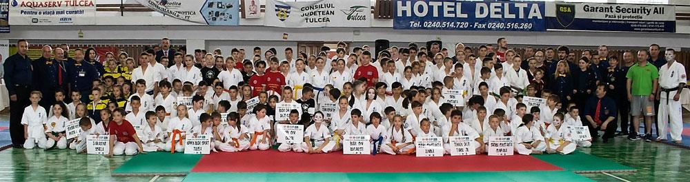 Peste 200 de sportivi la Danube Delta Cup International