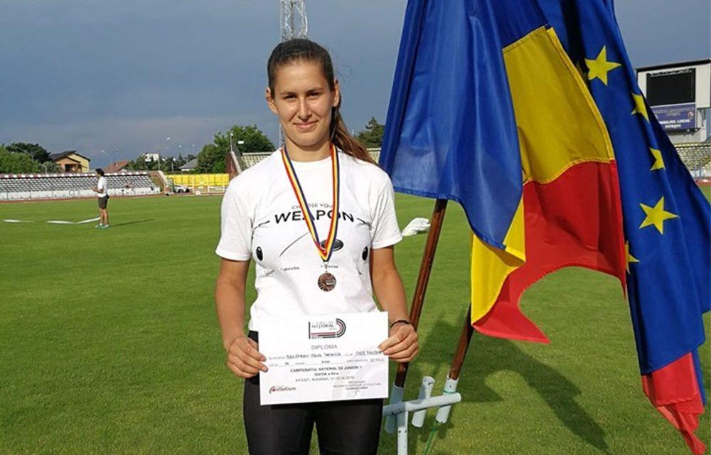 Oana Solonaru, bronz la Campionatele Naţionale U20