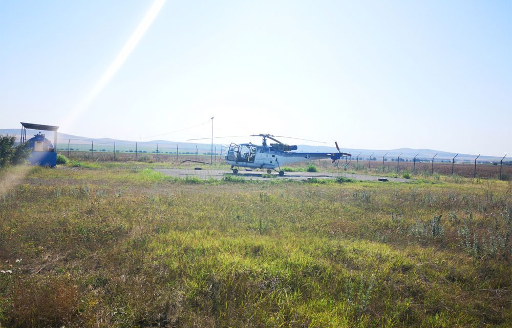 Elicopterul Unităţii de Aviaţie Specială Tulcea a participat la zeci de misiuni