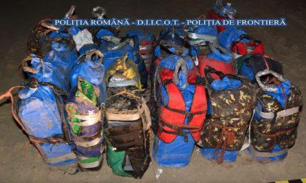 Ancheta poliţiştilor în cazul tonei de cocaină găsită la Tulcea, verificată