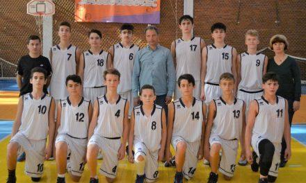 Echipa de baschet U16 CSS Tulcea, la Camp MBA – Serbia