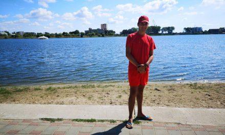 Salvamarul de pe lacul Ciuperca a salvat un bărbat de la înec