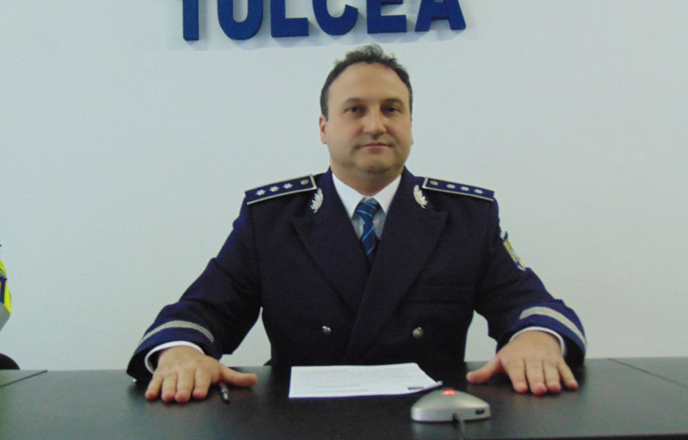 Şeful IPJ, comisar Daniel Grădinaru: Nu avem clanuri de interlopi în Tulcea