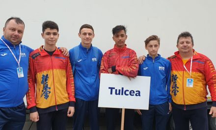 Sportivi tulceni, pe podium la International Youth Games
