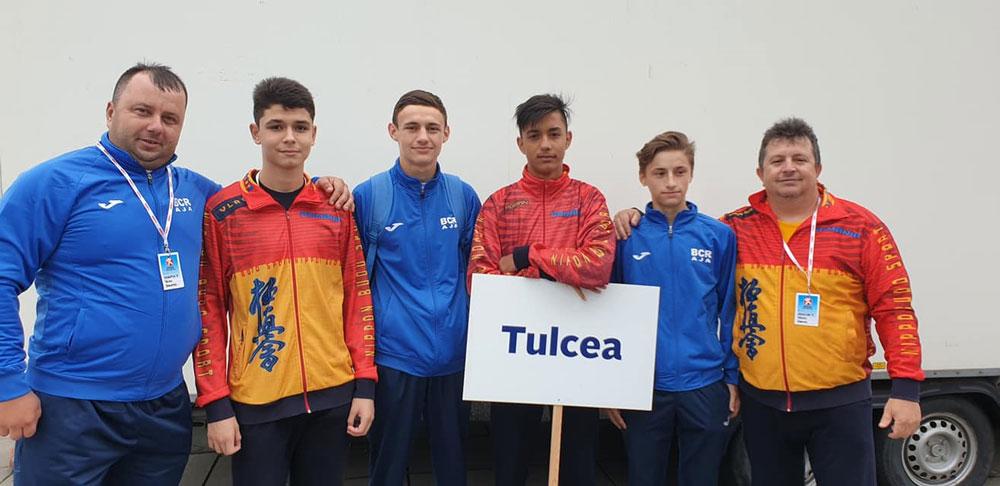 Sportivi tulceni, pe podium la International Youth Games