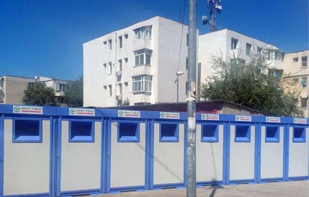 Noi module de colectare deşeuri în municipiu