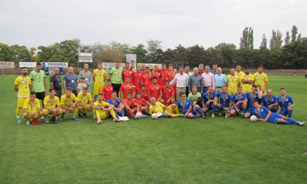 """""""Cupa Înfrăţirii"""" 2019 – Trofeul primei ediţii a plecat la Cahul, în Republica Moldova"""