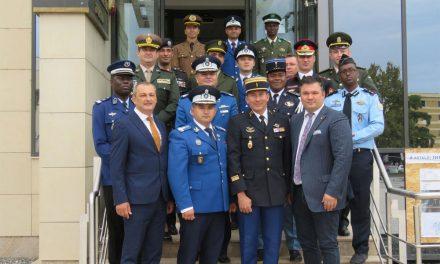 Ofiţeri ai forţelor de securitate internă din 10 ţări, în vizita la Tulcea