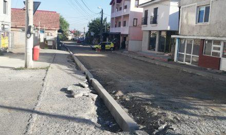 Reabilitarea mai multor artere din municipiu, în linie dreaptă