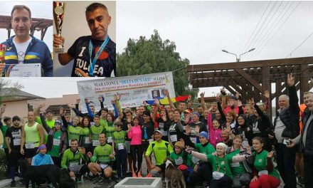 Liviu Urlih şi Sorin Andrici, recorduri personale la Maratonul Delta Dunării