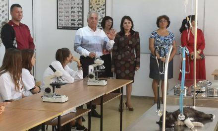 """Dublă inaugurare la Liceul Agricol """"Nicolae Cornăţeanu"""""""