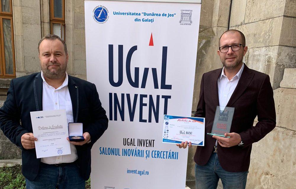 Tulcean premiat cu aur la Salonul Inovării