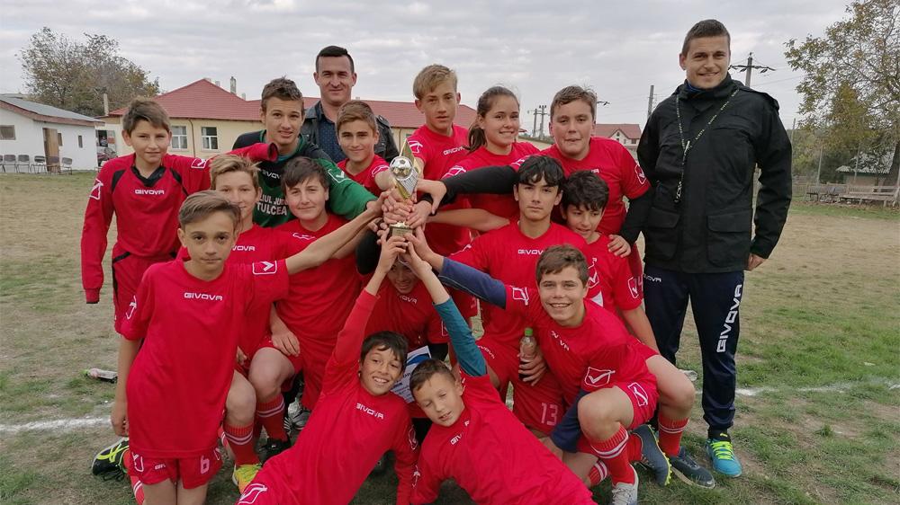Fotbal în memoria profesorului Toma Teodor la Nufăru