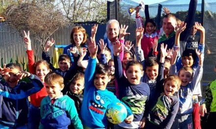 "A fost inaugurat parcul de joacă ""Piticot"" al Şcolii ""Grigore Antipa"""