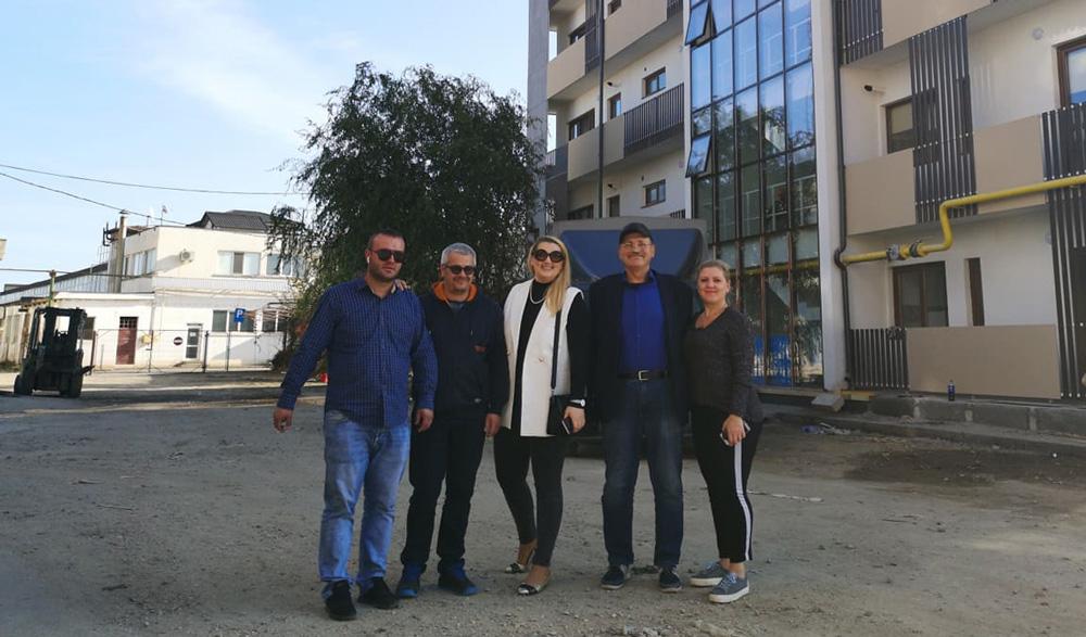 Firma de construcţii Perigem a finalizat un nou bloc în municipiu