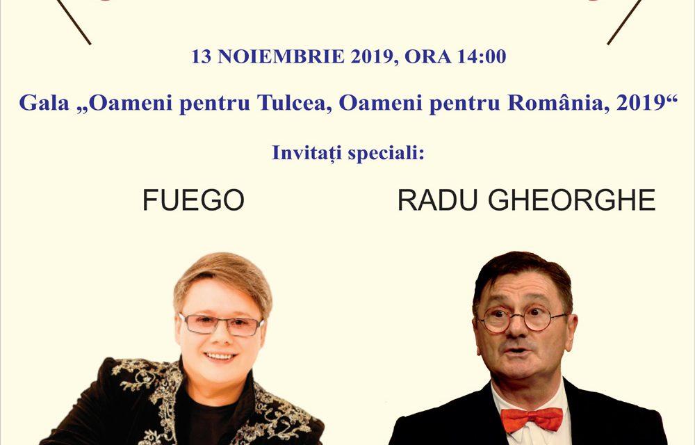 """Gala """"Oameni pentru Tulcea, Oameni pentru România, 2019″:"""