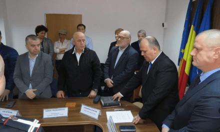 Alexandru Cristian Iordan a depus jurământul în funcţia de prefect al judeţului