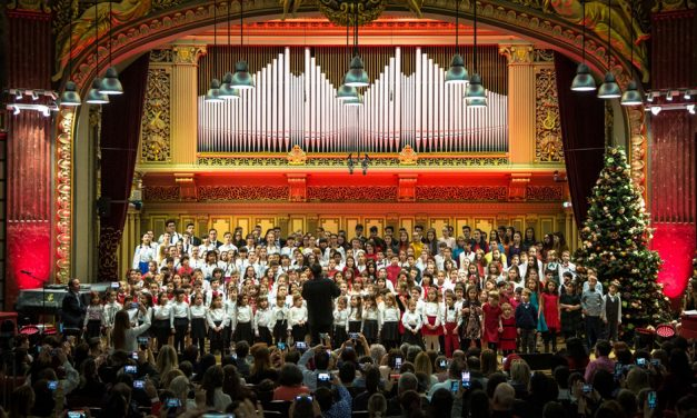 Gala de Crăciun Cantus Mundi la Tulcea