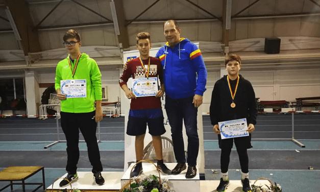 """Marca Gheorghe Ciulei: trei medalii de aur pentru atleţii din Turcoaia la """"Cupa de Iarnă"""""""