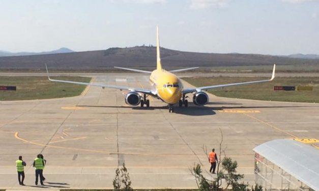 """Se reiau cursele charter pe Aeroportul """"Delta Dunării"""""""