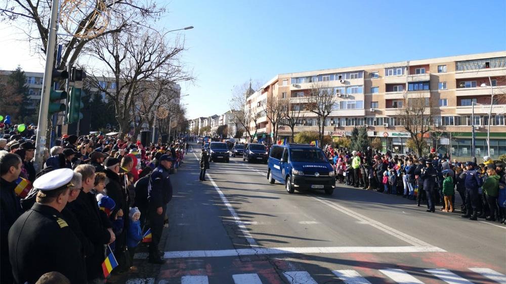 Sute de tulceni, prezenţi la manifestările dedicate Zilei Naţionale a României