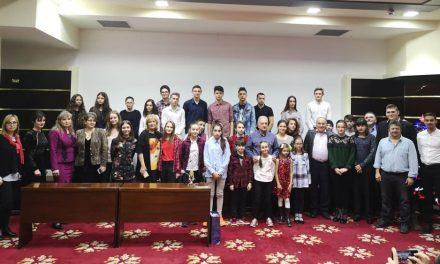 """""""Christmas Party Performers"""": 35 de elevi performeri, premiaţi de Primăria Tulcea"""
