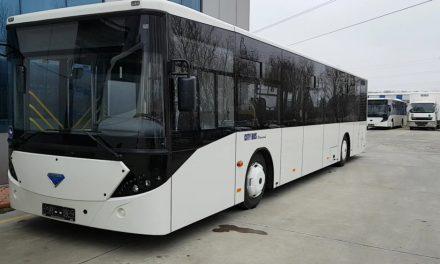 Două autobuze noi ajung astăzi la Tulcea