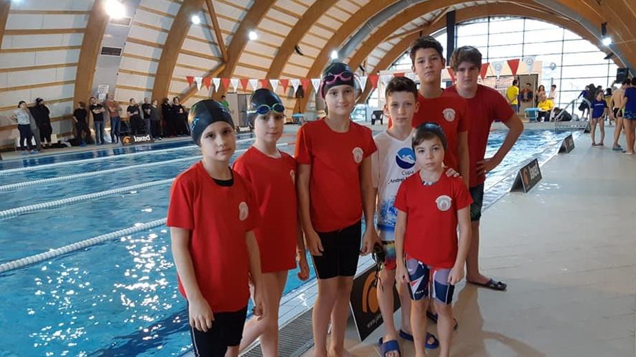 Înotătorii de la Aqua Vita Delta, multiplu medaliaţi la Cupa Barracuda