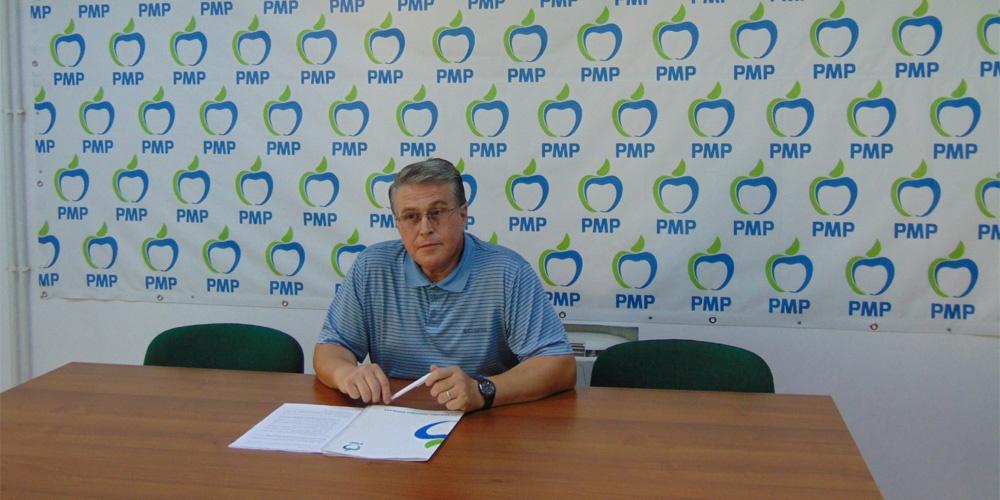 Preşedintele PMP Tulcea Victor Tarhon ţinteşte şefia Consiliului Judeţean
