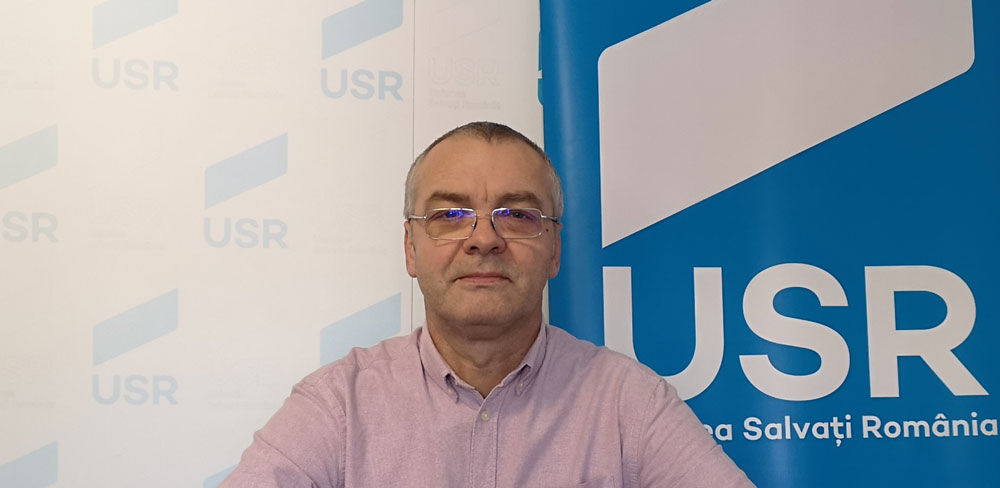 Valentin Bodur, candidatul USR Tulcea la Primăria municipiului