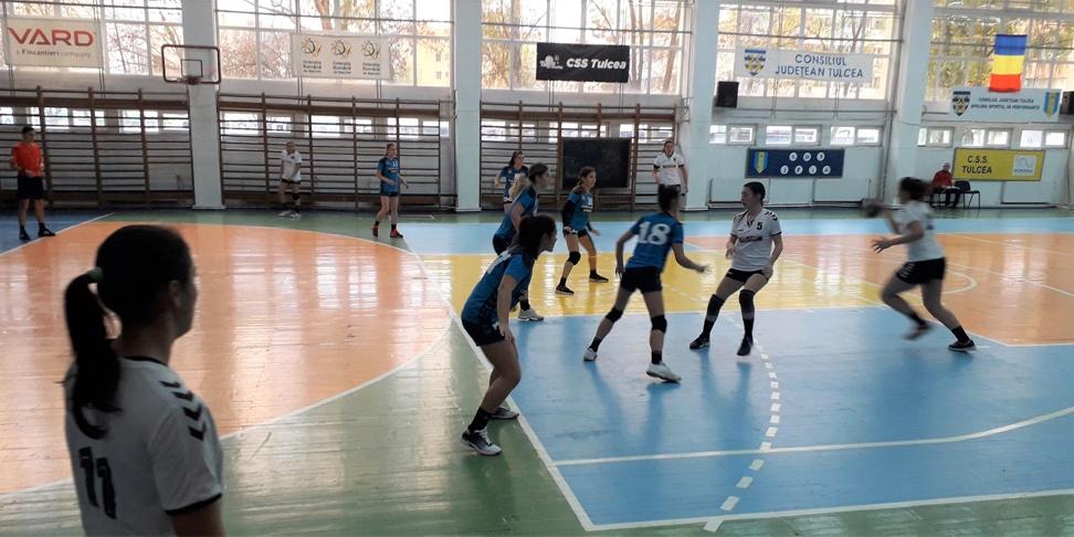 Handbal, junioare 1: CSS Tulcea a pierdut la scor în Capitală