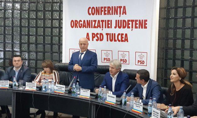 Horia Teodorescu, reales preşedinte al PSD Tulcea