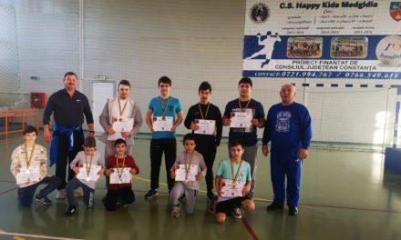 Luptătorii tulceni au ocupat podiumul la un sparring de la Medgidia