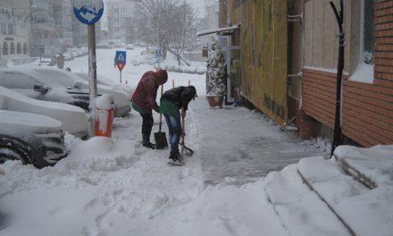 Nici o amendă pentru trotuare necurăţate, la Tulcea