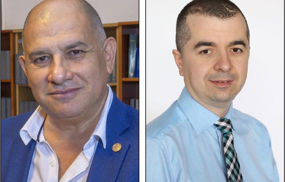 Deputatul liberal George Şişcu şi preşedintele PNL Ştefan Ilie, în autoizolare