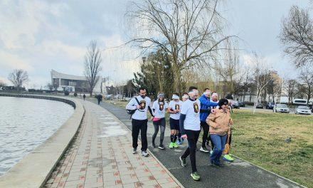 """Echipa """"Spartanii"""", la primul maraton pe întuneric"""