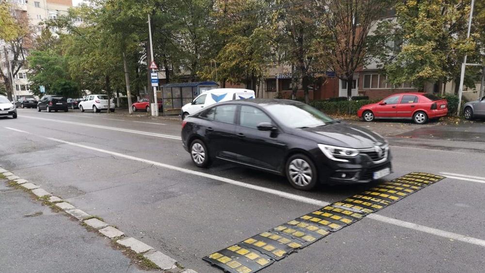 Începe montarea limitatoarelor de viteză în municipiu
