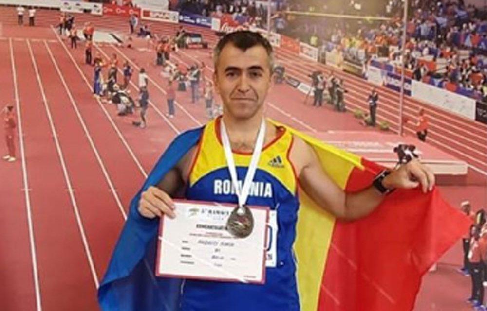 Jandarmul tulcean Sorin Andrici, medaliat cu bronz la Campionatul Balcanic Masters