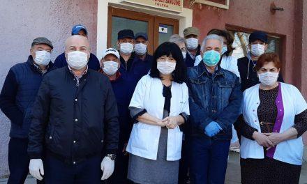 Sânge şi măşti de protecţie donate de primarul Hogea şi angajaţii  DIAP Centrului de Transfuzii Sanguine