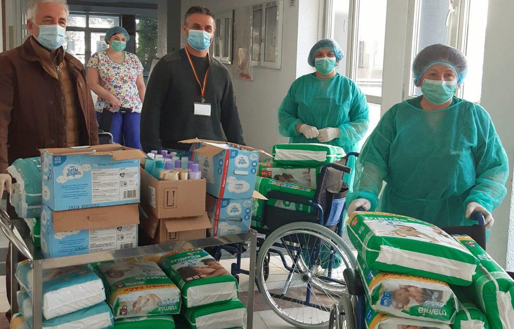 Donație la Secția de Pediatrie a Spitalului Județean prin intermediul Primăriei Tulcea