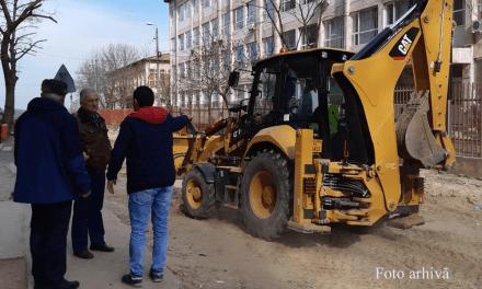 Lucrările de reabilitare a străzilor Spitalului şi Iuliu Maniu, devansate cu circa o lună