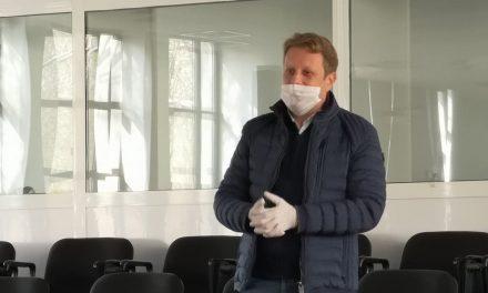 Managerul SJU Tulcea, dr. Tudor Năstăsescu