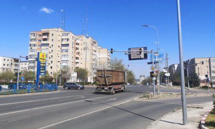 Semafoarele pe intermitent, provocare pentru şoferii tulceni