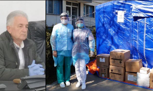 Echipamente de protecţie şi aparate chirurgicale, distribuite de Primăria Tulcea Spitalului Judeţean