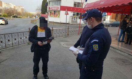 Încălcarea ordonanţelor militare la Tulcea:
