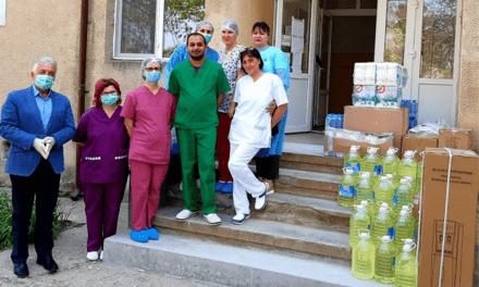 Materiale sanitare pentru Secţia de Boli Infecţioase.