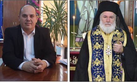 Prefectul Iordan şi Episcopul Visarion, şedinţă de organizare a sărbătorilor Pascale