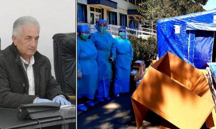 Primarul Hogea, donaţie la Secţia Oncologie
