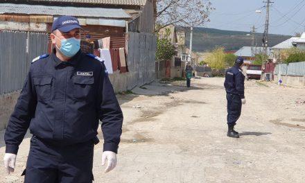 Un bărbat aflat în carantină a fost prins de jandarmi când încerca să evadeze peste gard