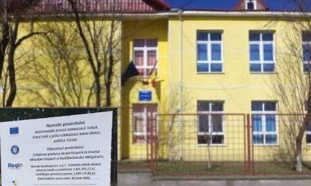 La Mihai Bravu, prin ITI: se modernizează o şcoală şi se construieşte o grădiniţă